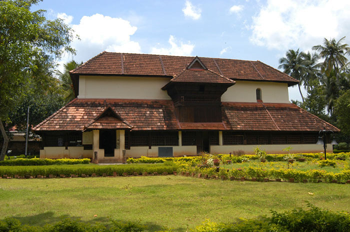 The Krishnapuram Palace cum museum in Alleppey