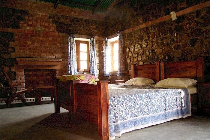 Interiors of the Wild Brook Retreat at Rajaji National Park