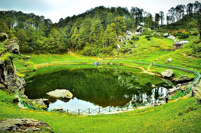 The beautiful Serolsar Lake in Shoja near Tirthan Valley