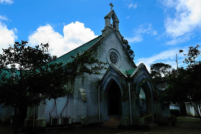 The church in Ranikhet