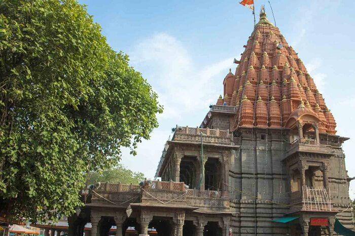 The grand Mahakaleshwar Temple at Ujjain in Madhya Pradesh