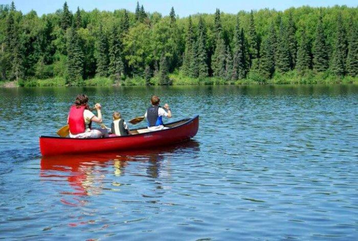 family kayaking in mandovi goa