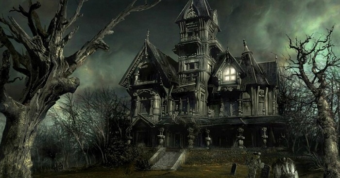 A house that is one of the haunted places in the world