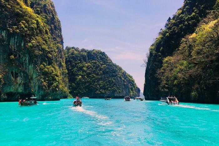 pooja thailand trip day 7 james bond island