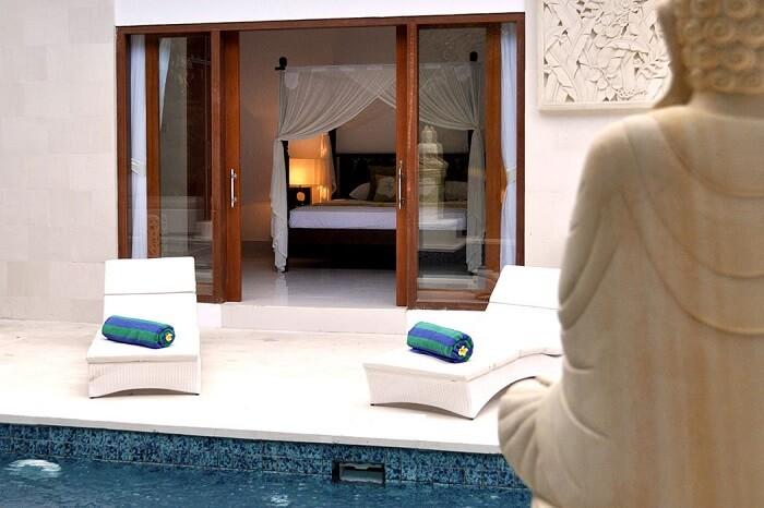 enjoy a stay at the opulent Taman Sari villa