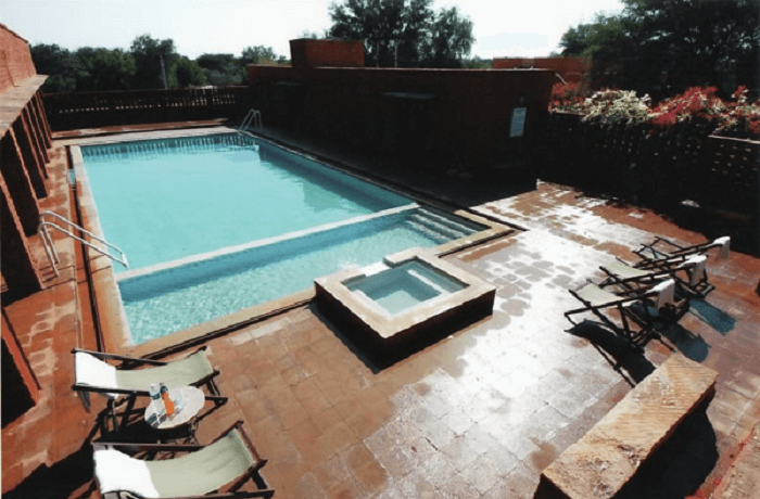 swimming pool in thar resort