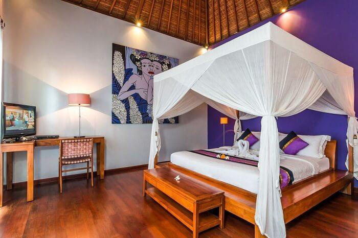 honeymoon suite in villa essence
