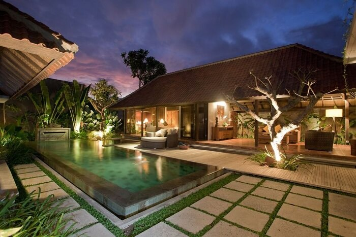 awesome villa komea with private pool