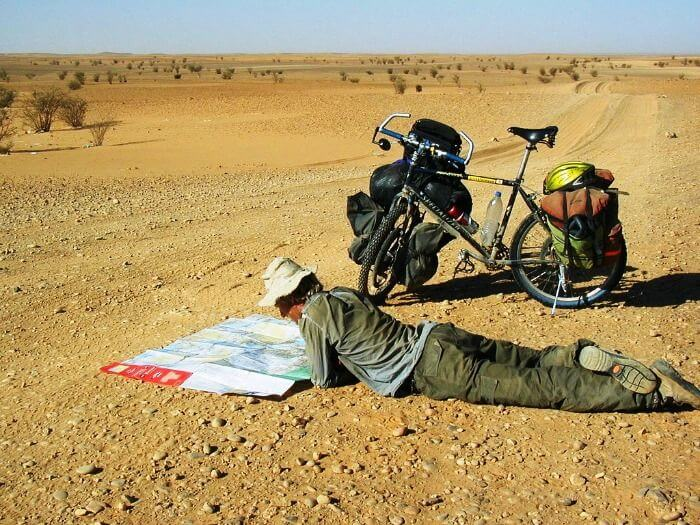 Alastair Humphreys epic bike ride around the world