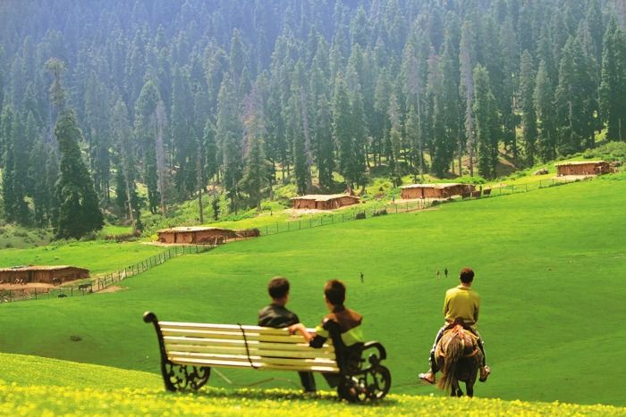 Doodhpathri, a picturesque site ideal for honeymoon in Kashmir