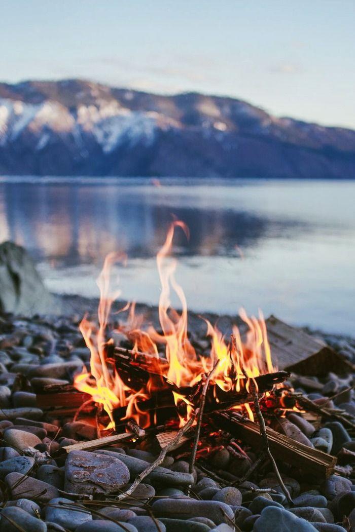Enjoy bonfire nights at riverside, Rishikesh