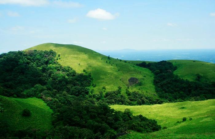 Brahmagiri Peak - a scenic spot full of green landscapes