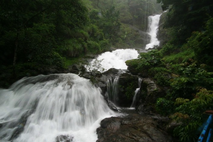 Iruppu Falls - one of the most popular tourist places in Coorg