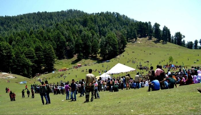 Kishtwar - surrounded by lofty mountains, dense deodar, and pine forests