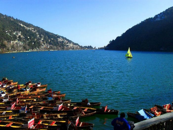 Boating at Nainital Lake - an ideal getaway away from Delhi