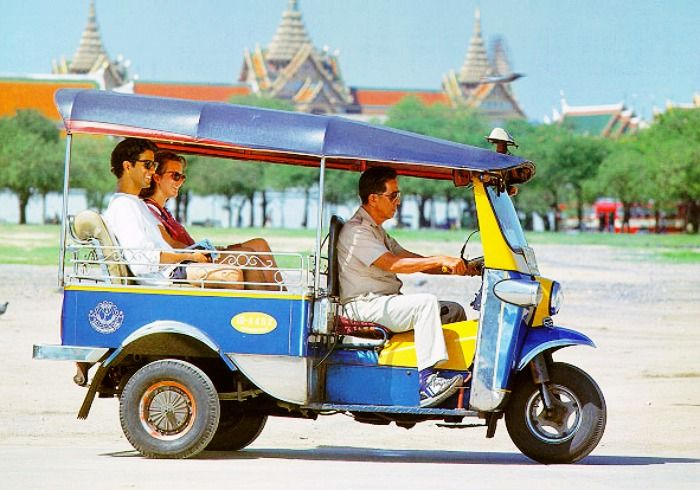 Take an iconic Tuk Tuk ride in Bangkok