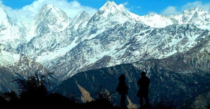 The soaring Himalayan peaks in Uttarakhand (Nainital, Almora, Kausani)