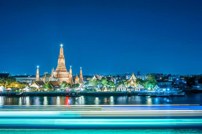 Wat Arun - most stunning temple at riverside location, Bangkok