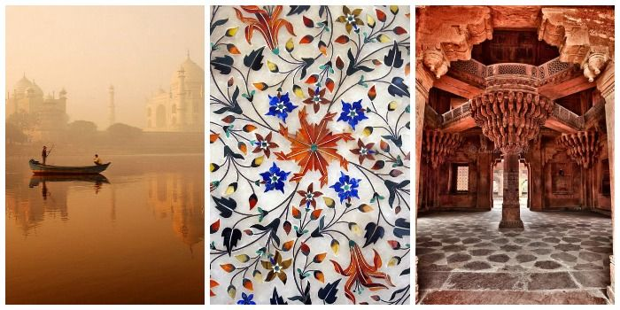 Taj Mahal, boat ride in the bank of Yamuna, Agra fort and Fatehpur Sikri in Agra