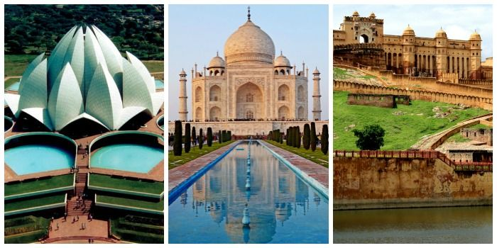 Visit the Golden Triangle (Delhi, Agra, and Jaipur) with your family