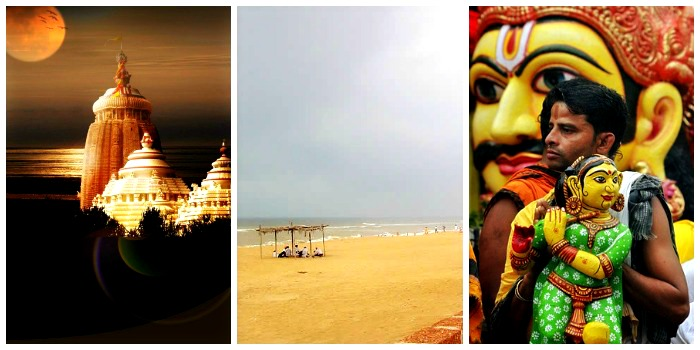 Visit the beautiful city Puri for Jagannath Rath Yatra and beaches, Odisha