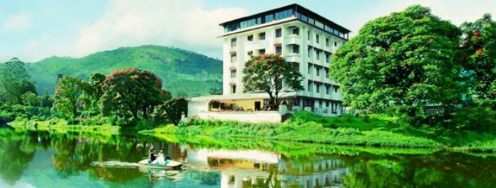 Westwood Riverside Garden Resort in Munnar
