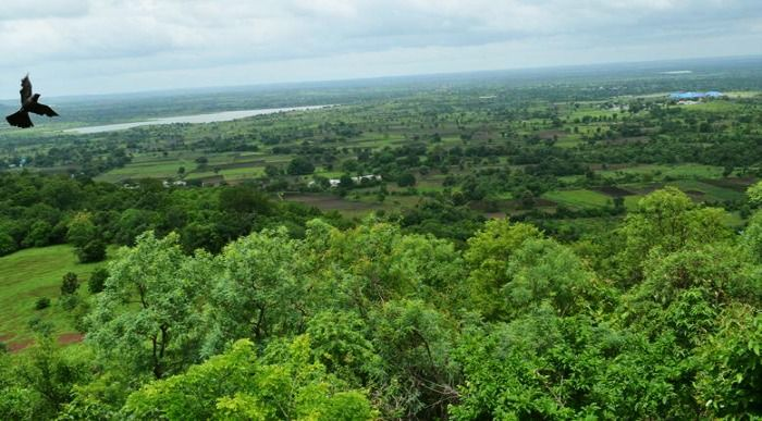 Ananthagiri hill- stunning viewpoints which includes cofee plantaion, orange groves and waterfalls
