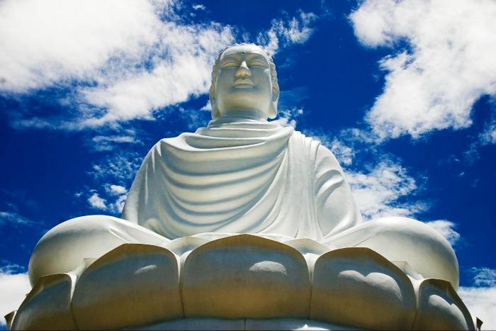 Famous Buddha Statue Nha Trang in Vietnam