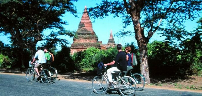 Enjoy cycling in Myanmar