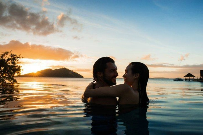 Fiji Islands - sunbathe with your love on the beaches