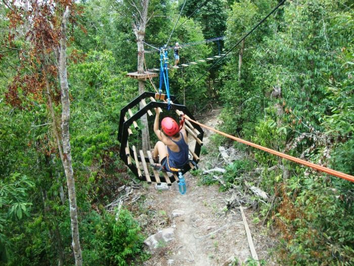High Point Rope Park, Sihanoukville Cambodia