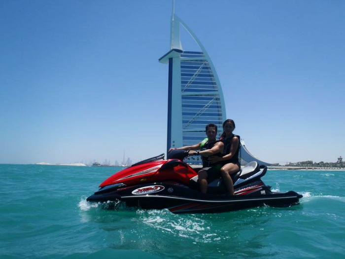 Jet ski in Dubai, United Arab Emirates