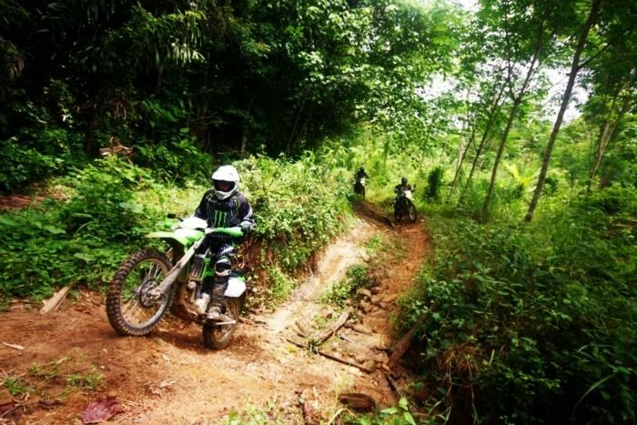 Dirt Biking Motocross - Off-Road Adventure in Krabi, Thailand