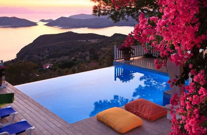 A romantic Resort in Turkey