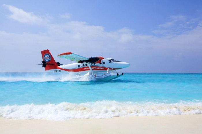 Get enchanted by the islands in a De Havilland Twin Otter seaplane
