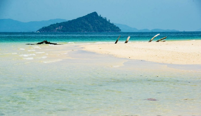 White Sand Beach in Thailand