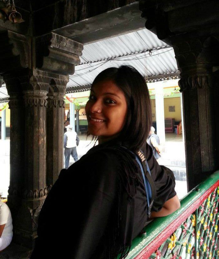 Amrita Das - Travelling to fill her passport with stamps from various destinations