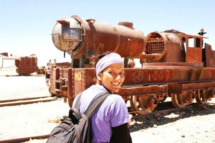 Aparna aka Backpacking Ninja