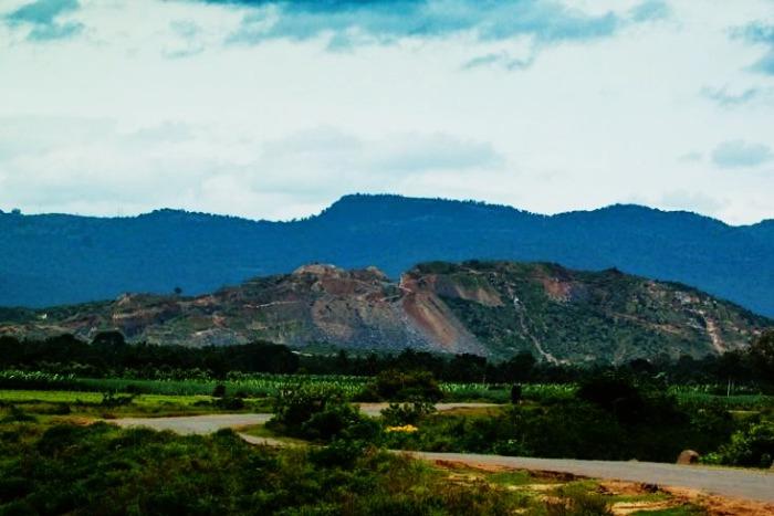BR hills landscape near Bangalore