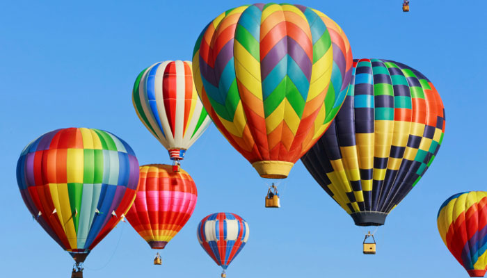 Hot Air Balloon Travel India
