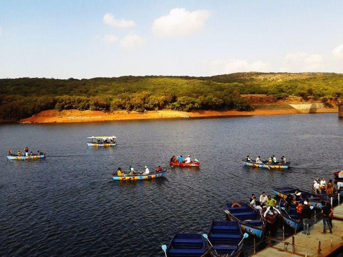 Boating at Venna Lake, Mahabaleshwar
