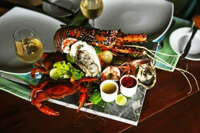 Sea food and coconut delicacies of Sri Lanka