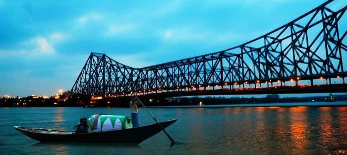 The historic Ganges River Cruise in Millennium Park Jetty, Kolkata