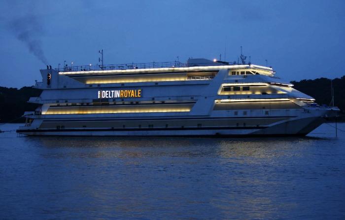 Goa Cruise, starting point at Santa Monica Jetty, Panjim