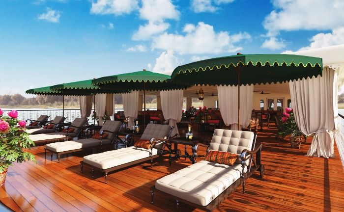 The luxurious Golden Triangle Cruise