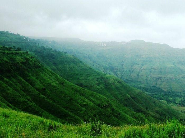 The verdant hills of Panchgani