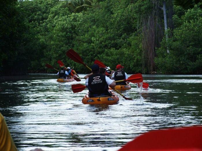 Kayaking at Kundalika River at Kolad