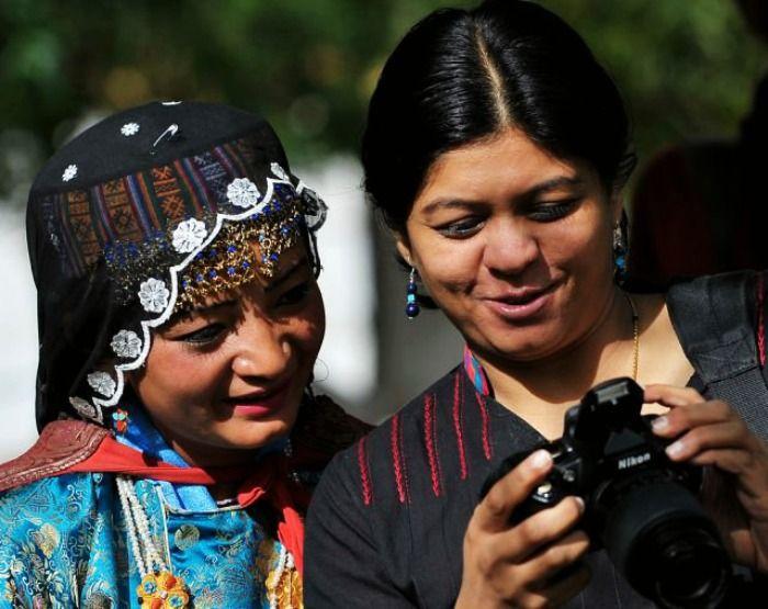 Lakshmi Sharath exploring the corners of India