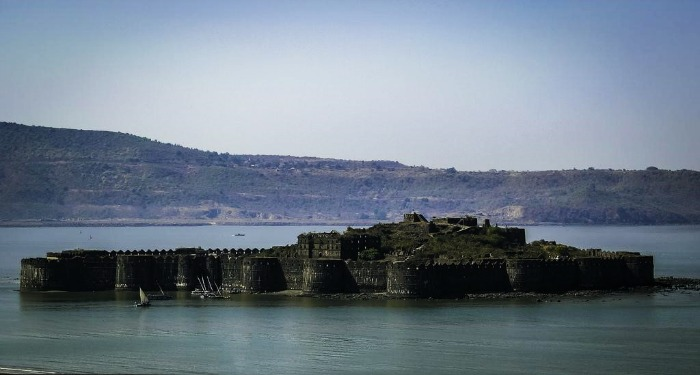 Murud-janjira fort in the middle of the sea