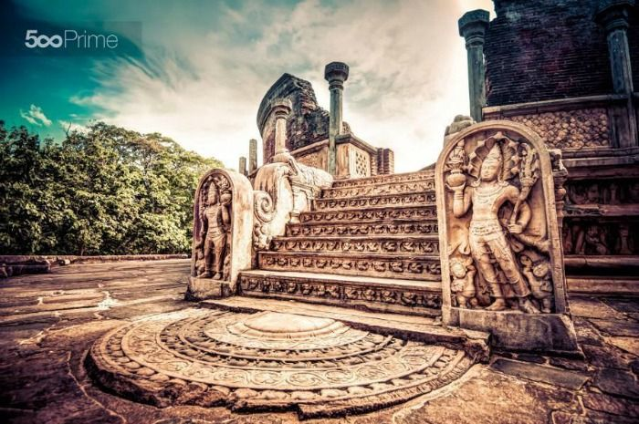 The ancient city of Polonnaruwa - a World Heritage Site
